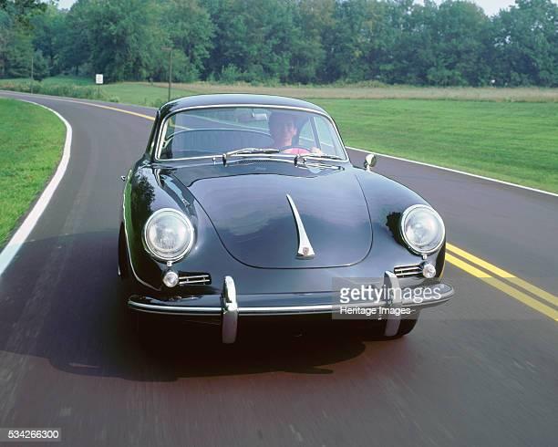 Porsche 356B driving in USA 2000