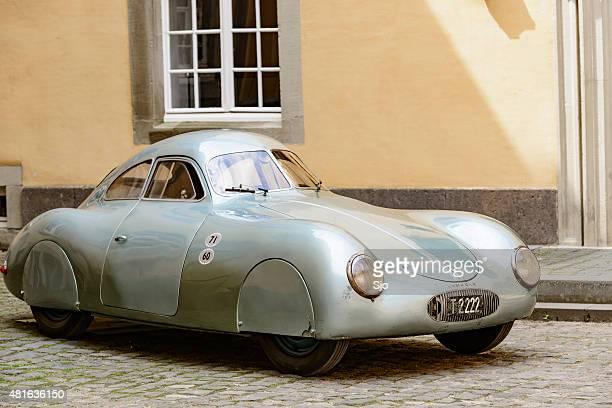 porsche 64 prototipo clásico coche deportivo - 1930 1939 fotografías e imágenes de stock