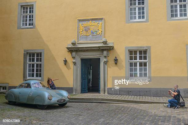 porsche 64 prototype - brand name stock pictures, royalty-free photos & images