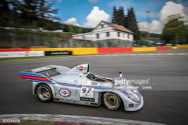 Porsche 908/4 in action during SpaCLassic May 25th 2013 at SpaFrancorchamps Circuit in Belgium