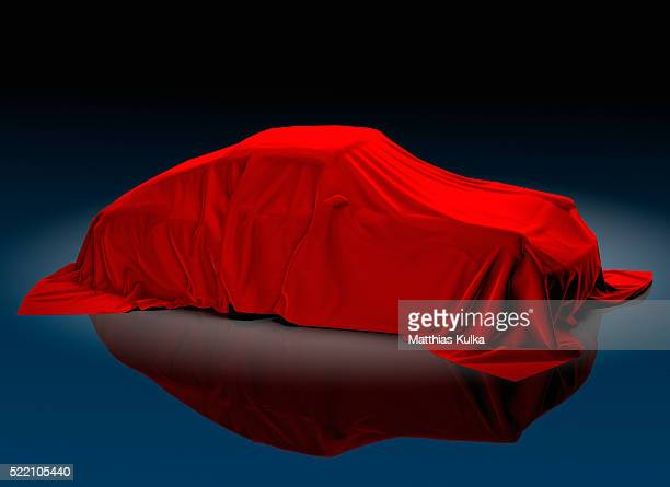 Porsche 911 Beneath Red Cloth