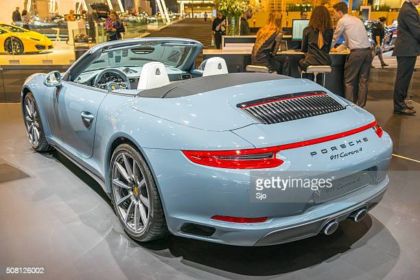 Porsche 911 Carrera 4 Cabriolet sports car