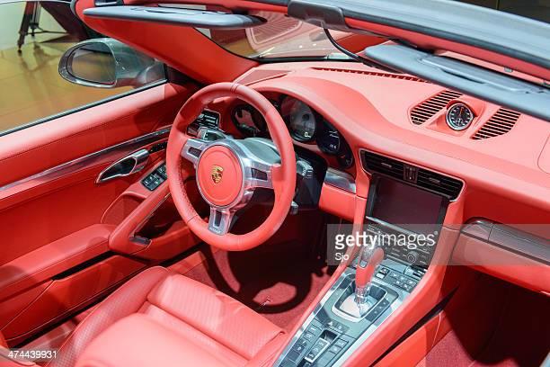 Porsche 911 Carrera 4S Cabrio innen