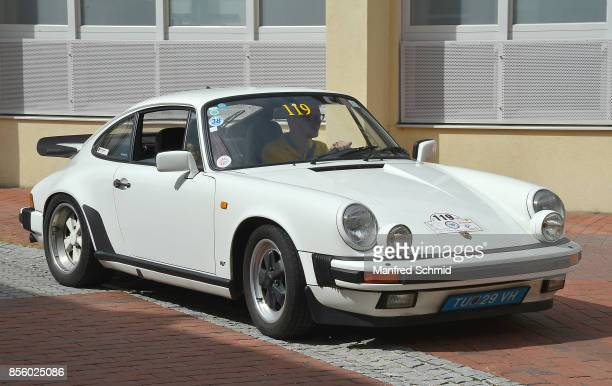 Porsche 911 Carrera in the '6th EbreichsdorfClassic' oldtimer rally at Markt Piesting on September 2 2017 in Markt Piesting Austria
