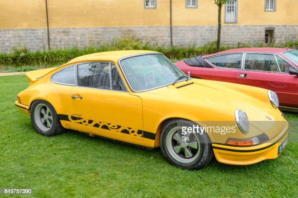 Porsche 911 Carrera RS 2.7 classic 1970 sports car