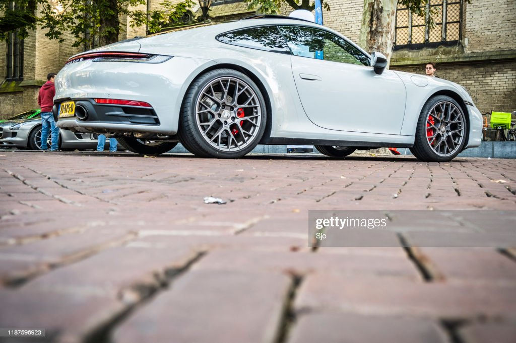 Porsche 911 Carrera S 992 sports car : Stock Photo