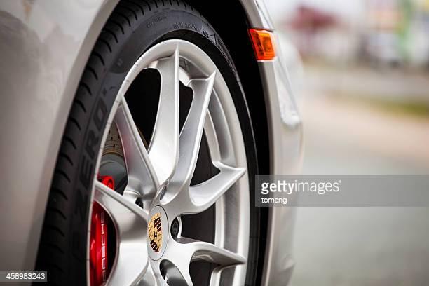 Porsche 911 Carrera S Cabriolet Front Wheel