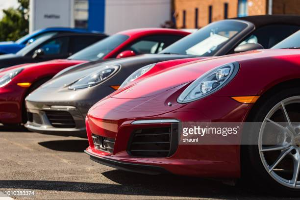 porsche 911 carrera s - prestige car stock pictures, royalty-free photos & images