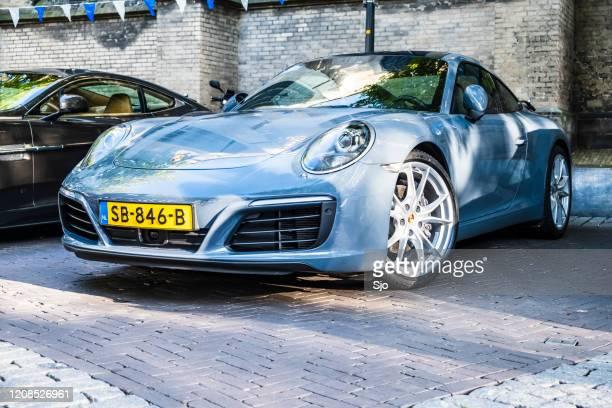 """porsche 911 carrera sportwagen - """"sjoerd van der wal"""" or """"sjo"""" stockfoto's en -beelden"""