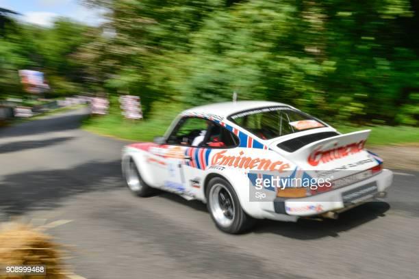 Porsche 911 classic rally car