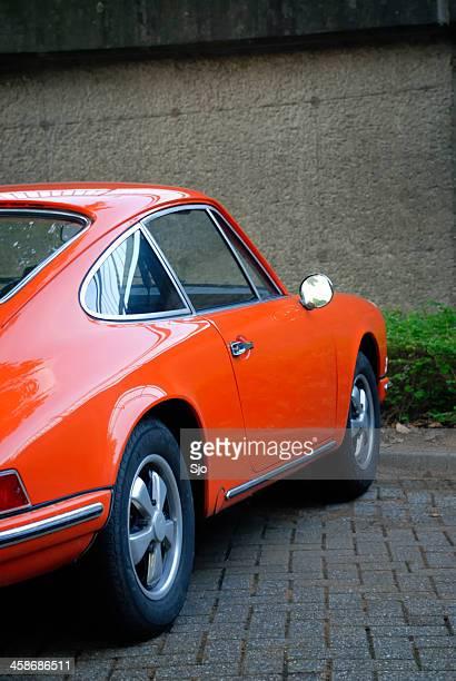 Porsche 911 classic sports car side view