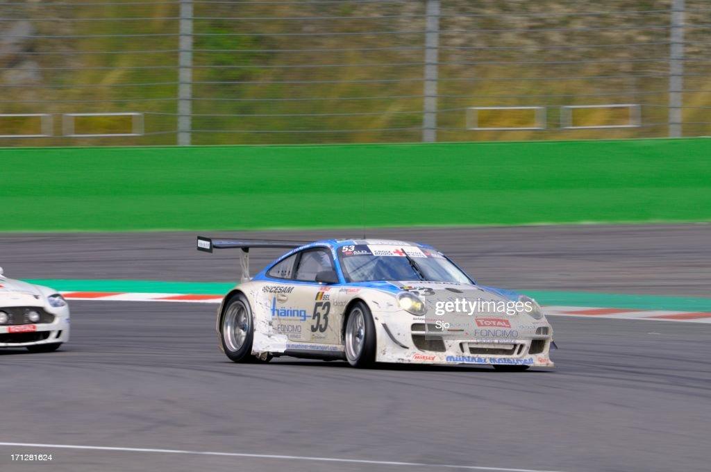 Porsche 911 Gt3 Cup S Race Car Stock Photo Getty Images