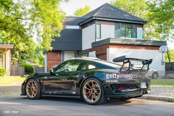 porsche 911 gt3 rs - porsche 911 stock-fotos und bilder
