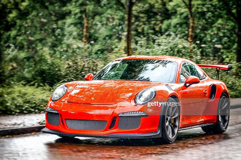 Porsche 911 GT3 RS sports car : Stock Photo