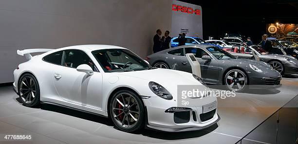 Porsche 911 GT3 sports car front view