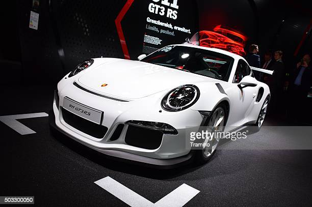 Porsche 911 GT3RS on the motor show