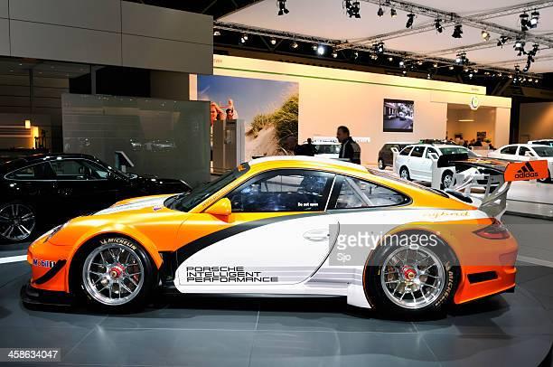 Porsche 911 Hybrid race car