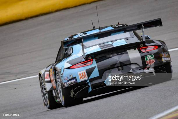 Porsche 911 RSR by Dempsey RacingProton turning into a corner on track during the 6 Hours of SpaFrancorchamps race the second round of the 2015 FIA...
