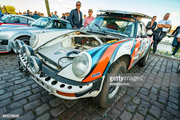 Porsche 911 Safari during the event with Magnus Walker on the Fish Market Hamburg