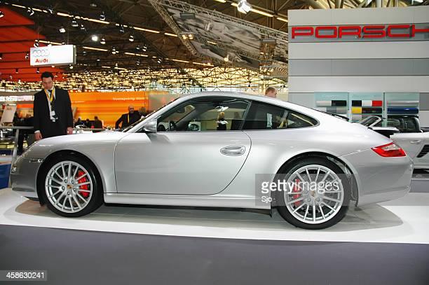 Porsche 911 sports car side view