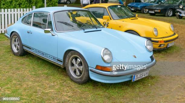 Porsche 911 T  vintage classic sports car front