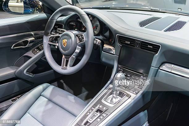 Porsche 911 Targa 4S sports car interior
