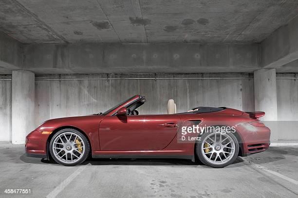 porsche 911 turbo - porsche stock pictures, royalty-free photos & images
