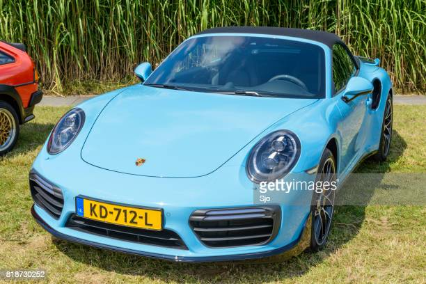 Porsche 911 Turbo S convertible sports car