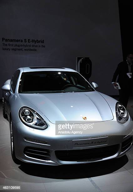 Porsche 911 turbo S is presented during 92nd Brussels Motor Show , from 16 to 26 January 2014, at Brussels Expo at the Heysel in Brussels, Belgium,...