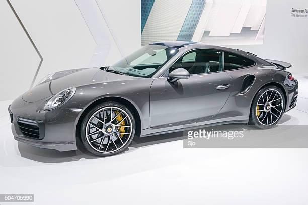 Porsche 911 Turbo S sports car