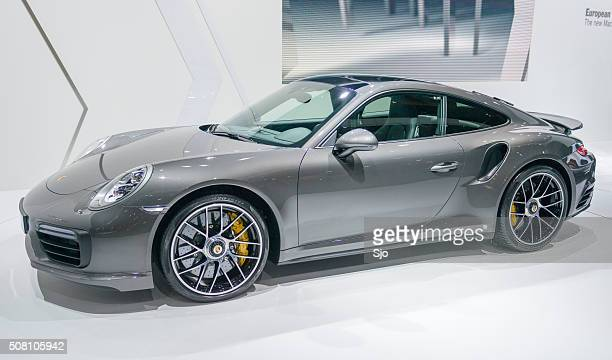 Porsche 911 Turbo S Sportwagen