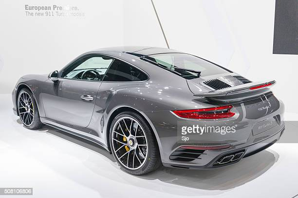 Porsche 911 Turbo S sports car