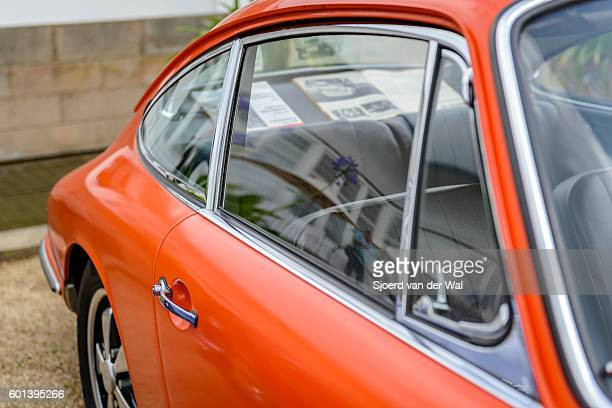 Porsche 911 vintage classic sports car detail