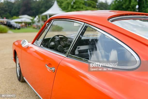 "porsche 911 vintage classic sports car detail - ""sjoerd van der wal"" stock pictures, royalty-free photos & images"