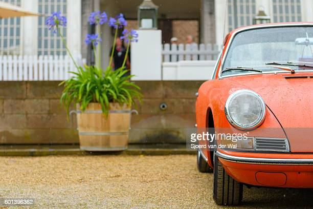 "porsche 911 vintage classic sports car front - ""sjoerd van der wal"" stock pictures, royalty-free photos & images"