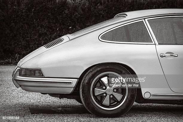 Porsche 911 vintage classic sports car rear