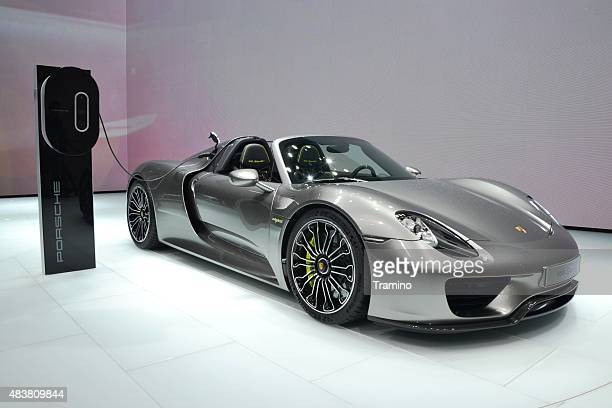 Porsche 918 Spyder on the motor show