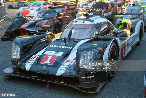 Porsche 919 Hybrid race car at Spa Francorcahmps