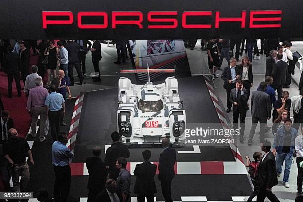 Porsche 919 Hybrid1 prototype développé par Porsche pour courir dans la catégorie LMP1 du Championnat du monde d'endurance FIA à partir de la saison...