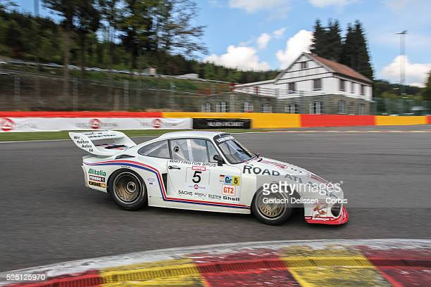 Porsche 935 in action during Spa-CLassic, May 25th, 2013 at Spa-Francorchamps Circuit in Belgium.