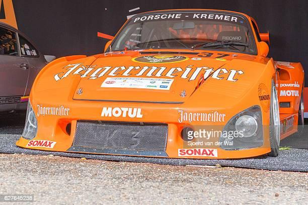 porsche 935 k3 bi-turbo jägermeister kremer - endurance race stock pictures, royalty-free photos & images