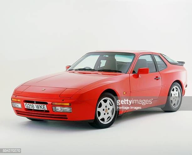 Porsche 944 S2 in white studio 2000