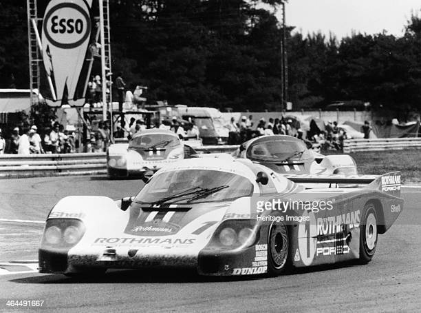 Porsche 956 driven By Jacky Ickx and Derek Bell 1982 They won at Le Mans Spa and Brands Hatch and came second at Silverstone as Ickx won the World...