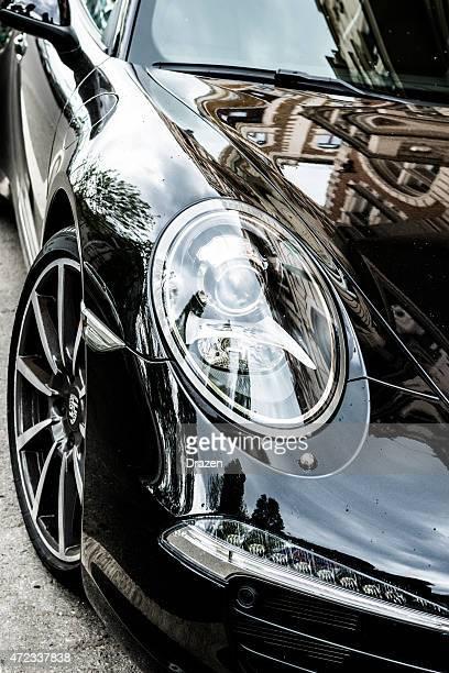 Porsche 991 Turbo S on parking