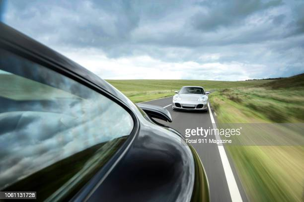 Porsche 996 Turbo photographed driving on a rural road near Beachy Head in East Sussex, taken on September 14, 2017.