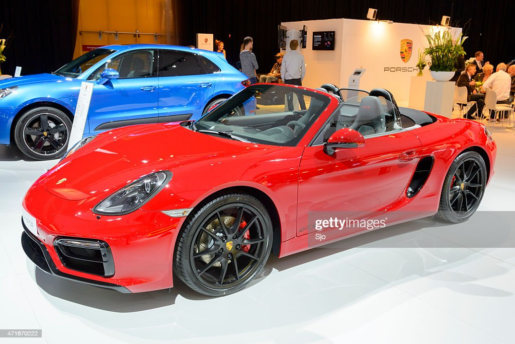 Porsche Boxster Gts Roadster Open Sports Car Stock Photo Getty Images