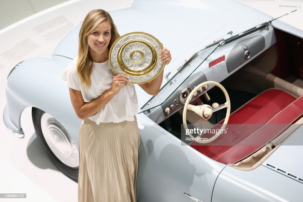 Angelique Kerber Press Conference : News Photo