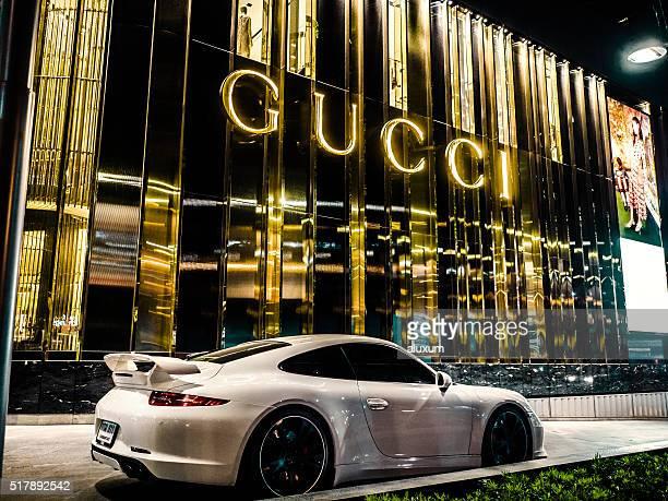 Porsche car Bangkok Thailand
