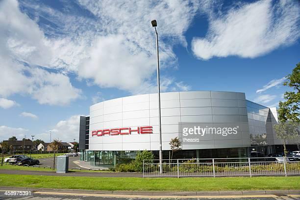 Porsche salón de coches, Glasgow