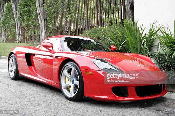 Porsche Carrera GT during Silver Spoon PreGolden Globe Hollywood Buffet Day 1 at Private Residence in Los Angeles California United States Photo by...